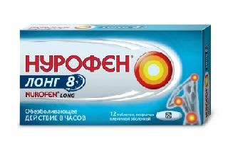 НУРОФЕН ЛОНГ табл. 200 мг + 500 мг   12